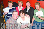 Classic: Organisers of the Classic Poker Night in aid of Ardfert Hospice in McElligotts Bar in Ardfert on Friday. Front: Maurice McElligott and Margaret Fitzgerald. Back l-r: Mary OHalloran, Judy Leahy, Kathleen OConnor and Peggy Geary (all from Ardfert)..