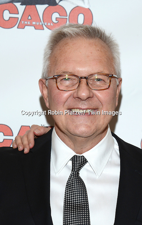 """Walter Bobbie attends """"Chicago""""  becoming the 2nd Longest Running Show on Broadway at performance 7486 on November 23, 2014 at the Ambassodor Theatre in New York City."""