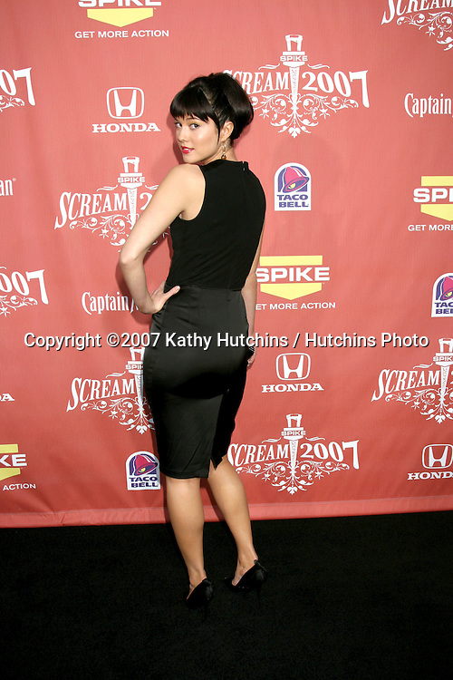 "Mary Elizabeth Winstead.Spike TV's ""Scream 2007"" Awards.The Greek Theater.Los Angeles,  CA.October 19, 2007.©2007 Kathy Hutchins / Hutchins Photo...               ."