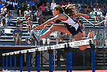North Tahoe Middle School&rsquo;s Julia Saxe takes third place in the eighth grade girls hurdles during the Tah-Neva track and field championships at Carson High School in Carson City, Nev., on Wednesday, May 18, 2016. <br /> Photo by Cathleen Allison
