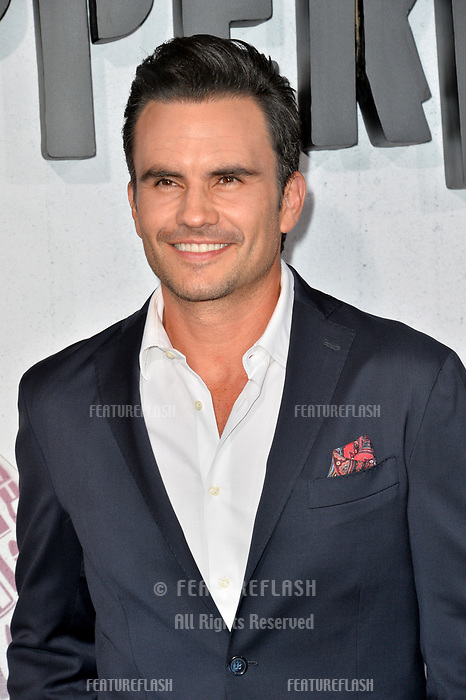 "LOS ANGELES, CA. August 28, 2018: Juan Pablo Raba at the world premiere of ""Peppermint"" at the Regal LA Live."