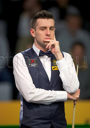 30.01.2013. Berlin, Germany.  German Masters 2013 Mark Selby England Leading the World ranking plays on the opening day