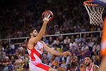 League ACB-ENDESA 2017/2018.<br /> PlayOff-Semifinal-Game: 3<br /> FC Barcelona Lassa vs Kirolbet Baskonia: 67-65.<br /> Patricio Garino.