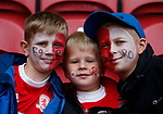 Young Middlesbrough fans warms up during the Championship match at the Riverside Stadium, Middlesbrough. Picture date: August 12th 2017. Picture credit should read: Simon Bellis/Sportimage