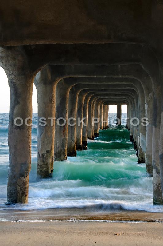 Manhattan Beach Pier Los Angeles California