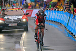 Nicolas Roche (IRL) BMC Racing Team in action during Stage 1, a 14km individual time trial around Dusseldorf, of the 104th edition of the Tour de France 2017, Dusseldorf, Germany. 1st July 2017.<br /> Picture: Eoin Clarke | Cyclefile<br /> <br /> <br /> All photos usage must carry mandatory copyright credit (&copy; Cyclefile | Eoin Clarke)