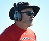 Rob Shaver, Plainedge varsity football head coach, surveys the field during a Nassau County Conference III game against host Lawrence High School on Saturday, Sept. 23, 2017.