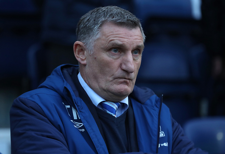 Blackburn Rovers manager Tony Mowbray <br /> <br /> Photographer Rachel Holborn/CameraSport<br /> <br /> The EFL Sky Bet Championship - Preston North End v Blackburn Rovers - Saturday 24th November 2018 - Deepdale Stadium - Preston<br /> <br /> World Copyright © 2018 CameraSport. All rights reserved. 43 Linden Ave. Countesthorpe. Leicester. England. LE8 5PG - Tel: +44 (0) 116 277 4147 - admin@camerasport.com - www.camerasport.com