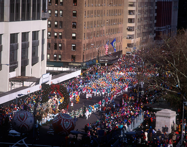 Thanksgiving Day Parade, New York, New York