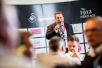 Wednesday April 05 2017 <br /> Pictured: Swansea City Hospitality Suites <br /> Re: Premier League match between Swansea City and Tottenham Hotspur at The Liberty Stadium on April 5, 2017 in Swansea, Wales, UK.