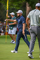 Tyrrell Hatton (ENG) after sinking his putt on 15 during round 3 of the World Golf Championships, Mexico, Club De Golf Chapultepec, Mexico City, Mexico. 2/23/2019.<br /> Picture: Golffile | Ken Murray<br /> <br /> <br /> All photo usage must carry mandatory copyright credit (© Golffile | Ken Murray)