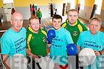 Pictured at the launch of a charity boxing fundraiser in aid of Crumlin childrens hospital which takes place at the Brandon Hotel, Tralee on the Saturday May 25th, from left are: Tommy Kelliher, President, Pat O'Shea PRO, MJ Burke, Brian O'Shea and Con O'Shea.