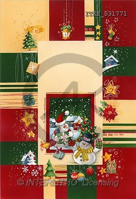 Isabella, CHRISTMAS SANTA, SNOWMAN, paintings(ITKE531771,#X#) Weihnachtsmänner, Schneemänner, Weihnachen, Papá Noel, muñecos de nieve, Navidad, illustrations, pinturas