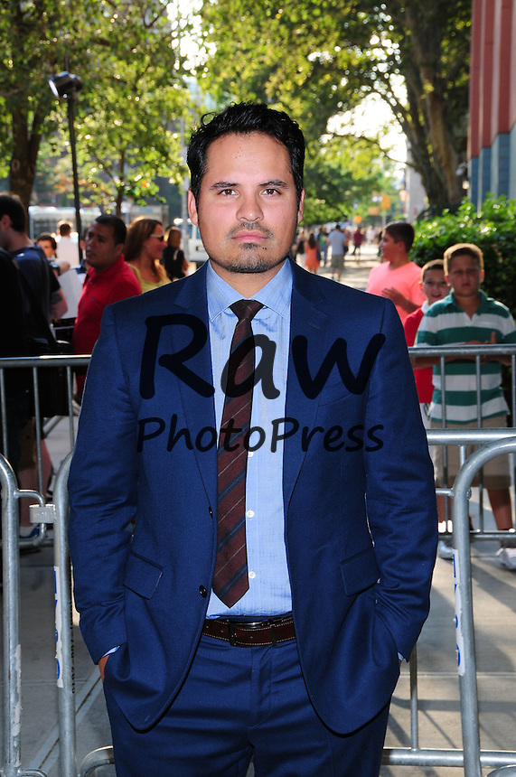 La pel&iacute;cula 'Ant-Man' se ha preestrenado en Nueva York.<br /> <br /> July 14, 2015 - New York, New York, U.S. - Ant-Man Premiere.SVA Theater, NY 07-13-15.photo by - Ken Babolcsay / photo.