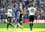 Chelsea's David Luiz watches Tottenham's Harry Kane during the FA Cup Semi Final match at Wembley Stadium, London. Picture date: April 22nd, 2017. Pic credit should read: David Klein/Sportimage