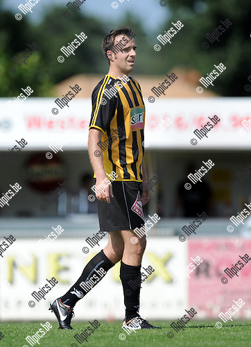 2012-08-01 / Voetbal / seizoen 2012-2013 / KFC Zwarte Leeuw / Kurt Rombouts..Foto: Mpics.be