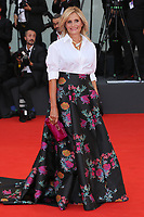 "VENICE, ITALY - AUGUST 28: Isabella Ferrari walks the red carpet ahead of the Opening Ceremony and the ""La Verite"" (The Truth) screening during the 76th Venice Film Festival at Sala Grande on August 28, 2019 in Venice, Italy., 2019 in Venice, Italy. (Photo by Marck Cape/Inside Foto)<br /> Venezia 28/08/2019"