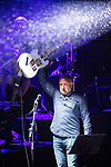 © Joel Goodman - 07973 332324 . 01/07/2017 . Manchester , UK . Peter Hook . Hacienda Classical play at the Castlefield Bowl as part of Sounds of the City , during the Manchester International Festival . A collaboration between DJs Mike Pickering and Graeme Park and the Manchester Camerata orchestra , Hacienda Classical reworks music by bands including the Happy Mondays and New Order and features Manchester musicians including Rowetta and Peter Hook . Photo credit : Joel Goodman