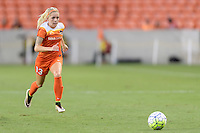 Houston, TX - Thursday Aug. 18, 2016: Denise O'Sullivan during a regular season National Women's Soccer League (NWSL) match between the Houston Dash and the Washington Spirit at BBVA Compass Stadium.