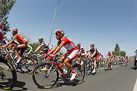 Joaquin Purito Rodriguez in the peloton during the stage of La Vuelta 2012 between Logroño and Logroño.August 22,2012. (ALTERPHOTOS/Paola Otero) /NortePhoto.com<br /> <br /> **SOLO*VENTA*EN*MEXICO**<br /> **CREDITO*OBLIGATORIO**<br /> *No*Venta*A*Terceros*<br /> *No*Sale*So*third*<br /> *** No Se Permite Hacer Archivo**<br /> *No*Sale*So*third*