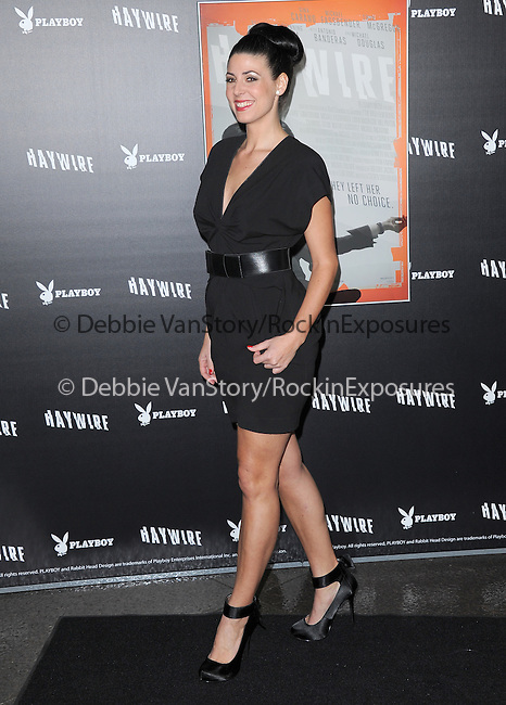 Natascha Berg attends the Relativity Media L.A. Premiere of Haywire held at The DGA in West Hollywood, California on January 05,2012                                                                               © 2012 DVS / Hollywood Press Agency