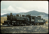 D&amp;RGW #483 K-36 with plow in Sargent.<br /> D&amp;RGW  Sargent, CO