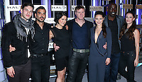 HOLLYWOOD, LOS ANGELES, CA, USA - NOVEMBER 10: Alex Baht, Christian Contreras, Kiki Wolfkill, Steve Waddington, Christina Chong, Mike Colter, Sarah Armstrong arrive at the HaloFest - Halo: The Master Chief Collection Launch Event held at Avalon on November 10, 2014 in Hollywood, Los Angeles, California, United States. (Photo by Xavier Collin/Celebrity Monitor)