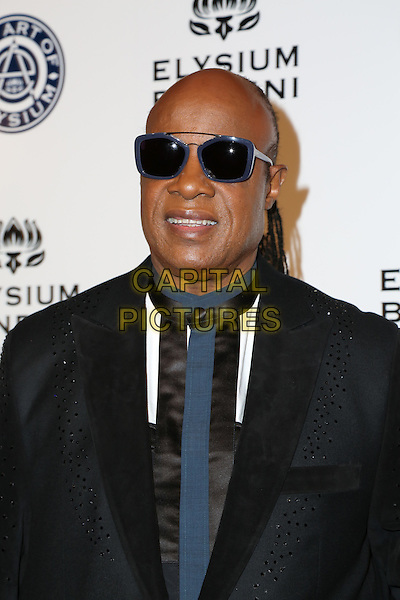 LOS ANGELES, CA - JANUARY 7: Stevie Wonder at the The Art Of Elysium Tenth Annual Celebration 'Heaven' Charity Gala at Red Studios i Los Angeles, California on January 7, 2017. <br /> CAP/MPI/PA<br /> &copy;PA/MPI/Capital Pictures