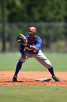 New York Mets Yeixon Ruiz (45) during practice before a minor league spring training game against the Miami Marlins on March 30, 2015 at the Roger Dean Complex in Jupiter, Florida.  (Mike Janes/Four Seam Images)