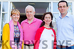 Pictured at the opening of Women in Media at Kilcooly House in Ballybunion on Friday evening from l-r were: Catherine Moylan, Jimmy Deenihan, Sarah Carey (Newstalk) and Cllr. Jimmy Moloney.