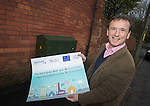 Local MP Alun Cairns at the switch on of BT Fibre Broadband in Dinas Powys.<br /> <br /> 19.02.14<br /> <br /> &copy;Steve Pope-FOTOWALES