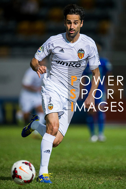 Jonas of Valencia CF in action during LFP World Challenge 2014 between Valencia CF vs BC Rangers FC on May 28, 2014 at the Mongkok Stadium in Hong Kong, China. Photo by Victor Fraile / Power Sport Images