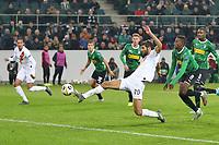 Federico Fazio of AS Roma scores the goal of 1-1 for his side<br /> Monchengladbach  7-11-2019 Borussia Stadion <br /> Football Europa League 2019/2020 Group J <br /> Borussia Monchengladbach - AS Roma <br /> Photo Gino Mancini / Insidefoto