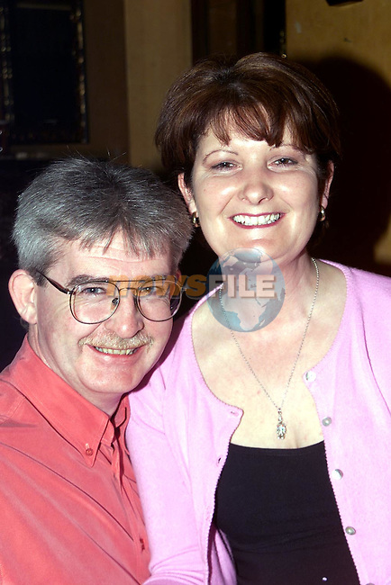 Matt and Yvonne Drew, Millrace Duleek enjoying a night out in Bensons..Picture Paul Mohan Newsfile
