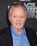 HOLLYWOOD, CA - JANUARY 29: Actor Jon Voight attends the premiere of Disney and Marvel's 'Black Panther' at  the Dolby Theater on January 28, 2018 in Hollywood, California.