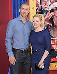 Melissa Joan Hart and husband at Warner Bros. Pictures' L.A Premiere of  The Incredible Burt Wonderstone held at The Grauman's Chinese Theater in Hollywood, California on March 11,2013                                                                   Copyright 2013 Hollywood Press Agency