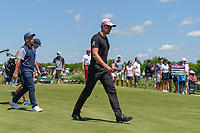 Henrik Stenson (SWE) makes his way down 8 during round 4 of the AT&T Byron Nelson, Trinity Forest Golf Club, Dallas, Texas, USA. 5/12/2019.<br /> Picture: Golffile   Ken Murray<br /> <br /> <br /> All photo usage must carry mandatory copyright credit (© Golffile   Ken Murray)