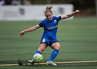 Seattle, WA - Saturday Aug. 27, 2016: Kim Little during a regular season National Women's Soccer League (NWSL) match between the Seattle Reign FC and the Portland Thorns FC at Memorial Stadium.
