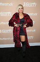 1 December 2018 - Los Angeles, California - Bebe Rexha. Variety's 2nd Annual Hitmakers Brunch held at The Sunset Tower Hotel.  <br /> CAP/ADM/FS<br /> &copy;FS/ADM/Capital Pictures