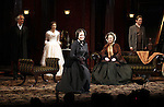David Strathairn, Jessica Chastain, Dee Nelson, Caitlin O'Connell and Dan Steven during the Broadway Opening Night Performance Curtain Call for 'The Heiress' at The Walter Kerr Theatre on 11/01/2012 in New York.