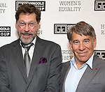 "David Staller and Stephen Schwartz attends the Opening Night of The Gingold Theatrical Group production of Bernard Shaw's ""Caesar & Cleopatra"" at Theatre Row Theatre on September 24, 2019 in New York City."