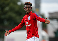 Reece Oxford of England during the International match between England U20 and Brazil U20 at the Aggborough Stadium, Kidderminster, England on 4 September 2016. Photo by Andy Rowland / PRiME Media Images.