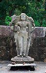 Vishnu Devale number 2 stone image, UNESCO World Heritage Site, the ancient city of Polonnaruwa, Sri Lanka, Asia