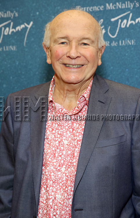 "Terrence McNally during the ""Frankie And Johnny In The Clair De Lune"" Company Meet The Press  at the the New 42nd Street Studios on April 18, 2019 in New York City."