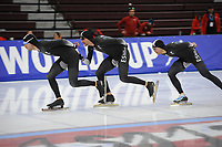 SPEEDSKATING: SALT LAKE CITY: 07-12-2017, Utah Olympic Oval, training ISU World Cup, Team New Zealand, ©photo Martin de Jong