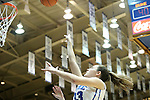 17 November 2012: Duke's Haley Peters. The Duke University Blue Devils played the Presbyterian College Blue Hose at Cameron Indoor Stadium in Durham, North Carolina in an NCAA Division I Women's Basketball game. Duke won the game 84-45.