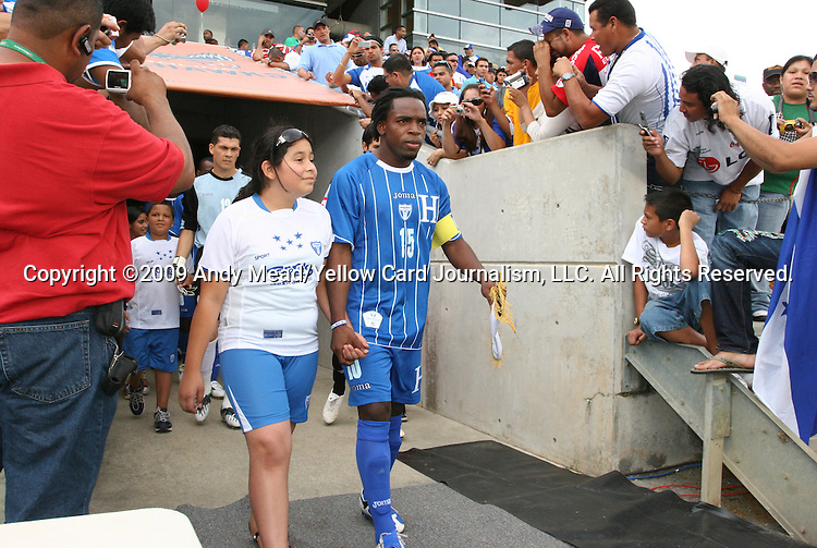 28 June 2009: Walter Martinez (HON). The Honduras Men's National Team played the Panama Men's National Team at the WakeMed Stadium in Cary, North Carolina in an international friendly soccer game.