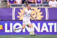 Orlando, FL - Saturday Sept. 24, 2016: Becky Sauerbrunn during a regular season National Women's Soccer League (NWSL) match between the Orlando Pride and FC Kansas City at Camping World Stadium.