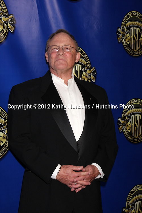 LOS ANGELES - FEB 12:  Charles Haid at the Press Area of the 2012 American Society of Cinematographers Awards at the Grand Ballroom, Hollywood & Highland on February 12, 2012 in Los Angeles, CA