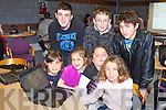 COMPUTER CAMP: Enjoying the Kerry Coder Dojo at Kerry Technology Park on Saturday seated l-r: Fiona Kerdzaia, Kellie Meehan, Anna Kerdzaia and Ellen Cooke. Back l-r: Owen O'Connor, Shane Casey and Rí Galway.